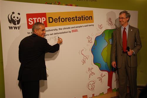 COP 9 - Side event: STOP Deforestation, organized by WWF International Secretariat of the Convention on Biological Diversity