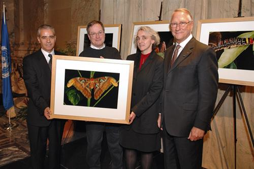 City of Montreal donates to the CBD Museum of Nature and Culture Secretariat of the Convention on Biological Diversity