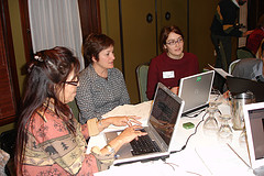 Participants work with websites