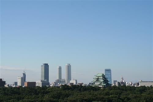Nagoya Castle and city City of Nagoya