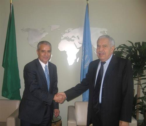 Meeting with the H.E. Dr. Ali Abdussalam Treki, President of the UNGA 64th session Secretariat of the Convention on Biological Diversity
