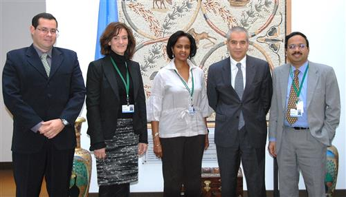 Visit of the UNEP MEA Focal Points Secretariat of the Convention on Biological Diversity