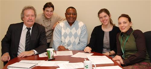 Visit of Canada Research Chair and UNESCO staff Secretariat of the Convention on Biological Diversity