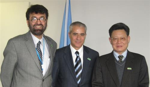Meeting with Tariq Banuri, DSD/CSD, and Sha Zukang, USG for Economic and Social Affairs Secretariat of the Convention on Biological Diversity