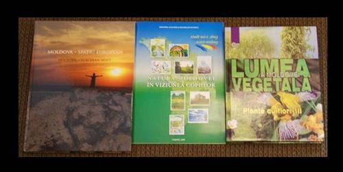 Books, brochures from the Ministry of Environment of the Republic of Moldova Secretariat of the Convention on Biological Diversity