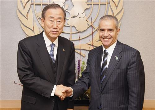 Meeting with the United Nations Secretary General UN Photo/Eskinder Debebe