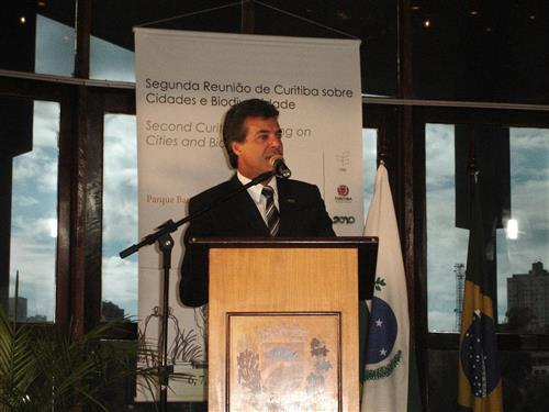 Second Curitiba Meeting on Cities and Biodiversity Secretariat of the Convention on Biological Diversity