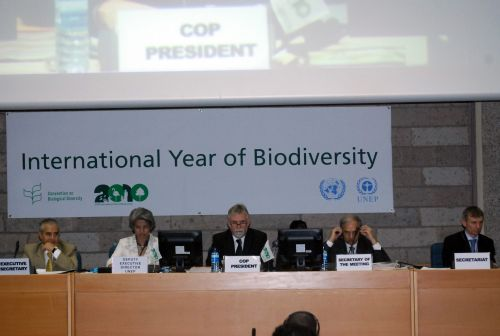 Opening plenary Secretariat of the Convention on Biological Diversity