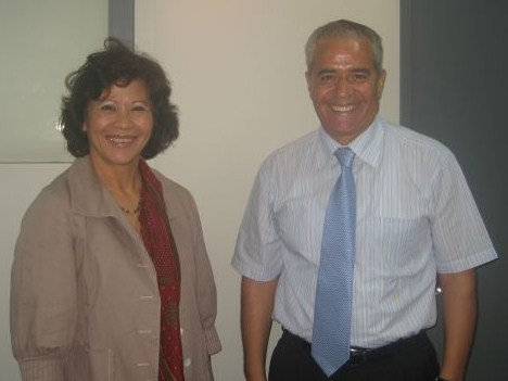 Meeting with Noeleen Heyzer, UNESCAP Executive Secretary Secretariat of the Convention on Biological Diversity