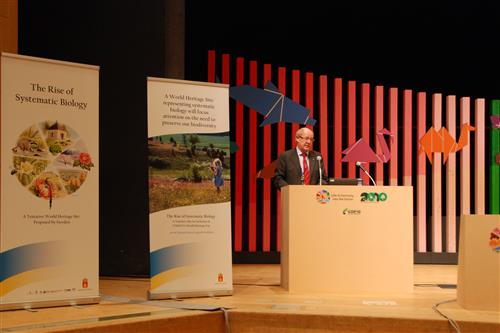 Third Linnaeus Lectures Secretariat of the Convention on Biological Diversity
