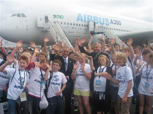 Future's Day - an Airbus event at the Farnborough Air Show 2010 Secretariat of the Convention on Biological Diversity