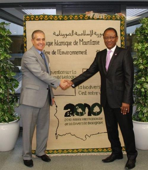 Mauritania donates to the CBD Museum Secretariat of the Convention on Biological Diversity