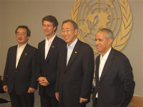 Edward Norton: United Nations Goodwill Ambassador for Biodiversity Secretartiat of the Convention on Biological Diversity