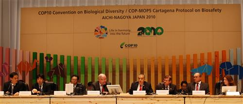 Local Biodiversity Strategies and Action Plans side event in Nagoya Secretariat of the Convention on Biological Diversity
