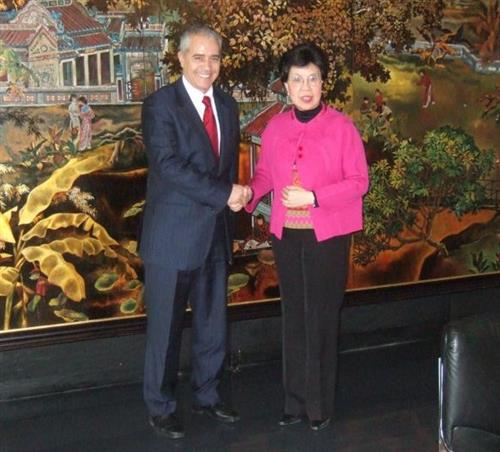 Meeting with Margaret Chan, WHO Director General WHO