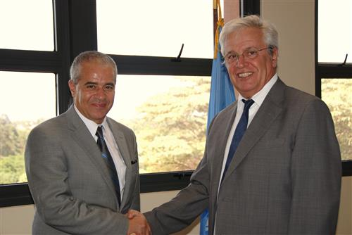 Meeting with Joan Clos, Executive Director, UN-HABITAT Secretariat of the Convention on Biological Diversity