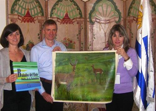Uruguay donates to the CBD Museum Secretariat of the Convention on Biological Diversity