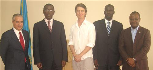 Meeting with the Rwandan senior officials, UN Goodwill Ambassador for Biodiversity and UNDP-Rwanda Resident Coordinator Secretariat of the Convention on Biological Diversity