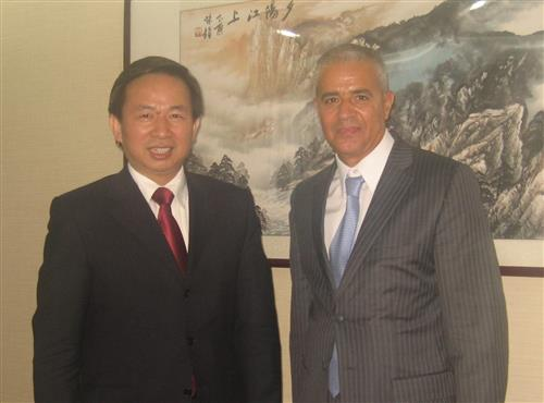 Meeting with the Environment Vice-Minister of China Secretariat of the Convention on Biological Diversity