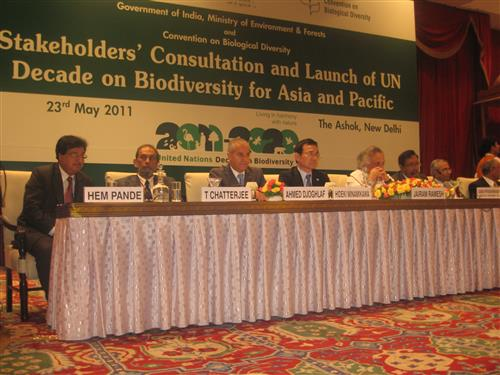 Stakeholders` consultation and Launch of the United Nations Decade on Biodiversity for Asia and the Pacific Secretariat of the Convention on Biological Diversity