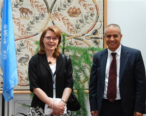 Visit of Caroline Caza, CBD Focal Point for Canada Secretariat of the Convention on Biological Diversity
