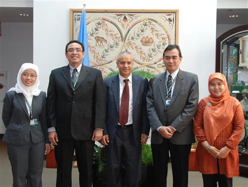 Visit of Indonesia delegation Secretariat of the Convention on Biological Diversity