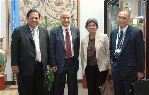 Visit of Philippine delegation Secretariat of the Convention on Biological Diversity