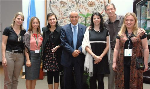 Visit of a delegation from Paraná, Brazil Secretariat of the Convention on Biological Diversity