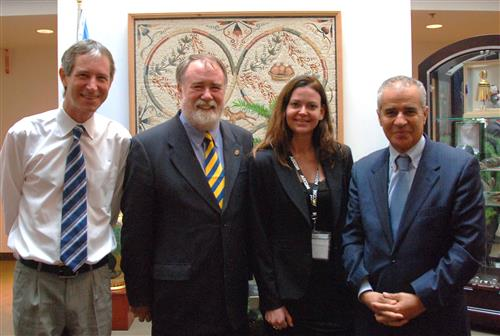 Visit of David Cadman, President of ICLEI Secretariat of the Convention on Biological Diversity