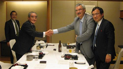 Meeting with the Chairman of AEON and senior officials of the Government of Japan Secretariat of the Convention on Biological Diversity