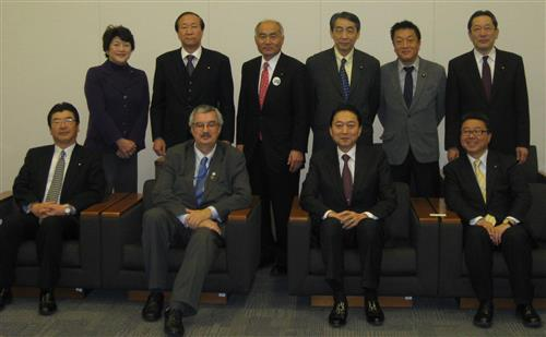 Meeting with members of GLOBE-Japan Secretariat of the Convention on Biological Diversity