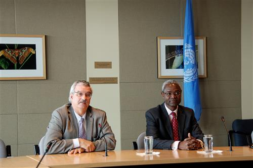 Visit of Ibrahim Thiaw, UNEP Deputy Executive Director Secretariat of the Convention on Biological Diversity