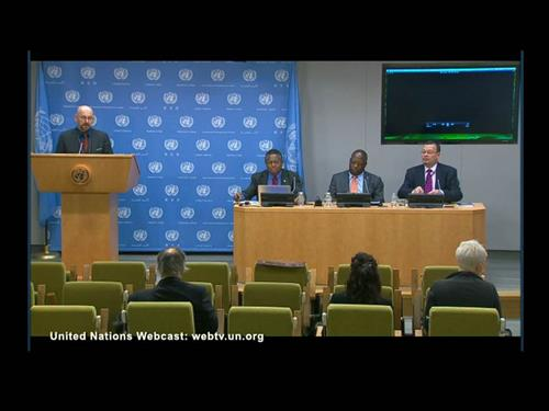 International Day for Biological Day UN Webcast