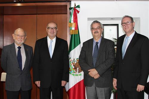Meeting with Environment Minister of Mexico SEMARNAT