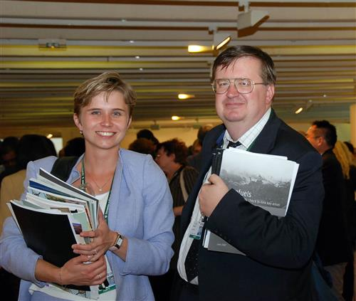 Czech delegates at the SBSTTA-12 meeting ©CBD