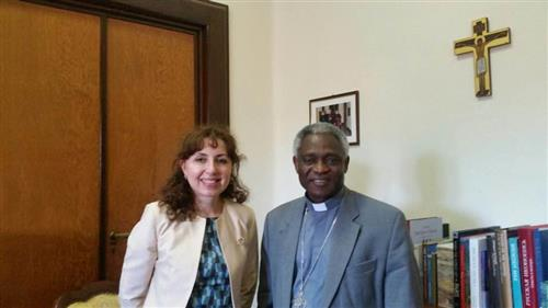 Meeting with His Eminence Cardinal Peter Turkson - Vatican Secretariat of the Convention on Biological Diversity