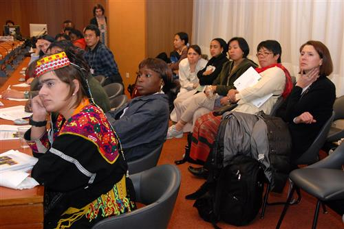 ABS 6 - Side event: Gender & biodiversity © CBD