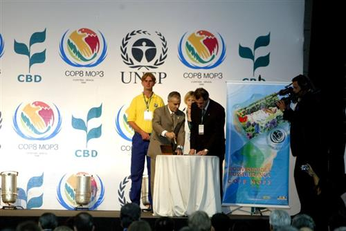 COP-MOP 3 - Opening session Secretariat of the Convention on Biological Diversity