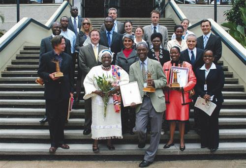 CBD among the top finalists of the UNEP's Baobab Award UNEP