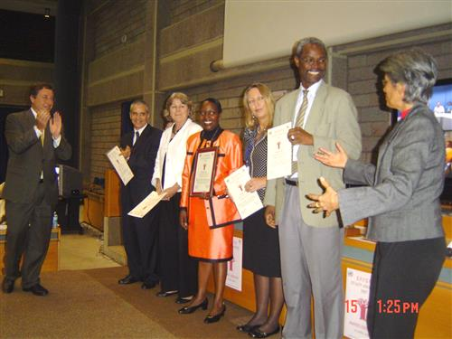 Baobab Award Ceremony for the Managerial Service Award Category
