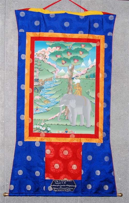 Mural painting: Thangkha - from Bhutan Secretariat of the Convention on Biological Diversity