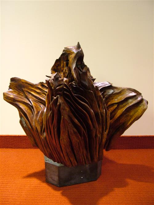 Sculpture: Bog Oak - from Ireland Secretariat of the Convention on Biological Diversity