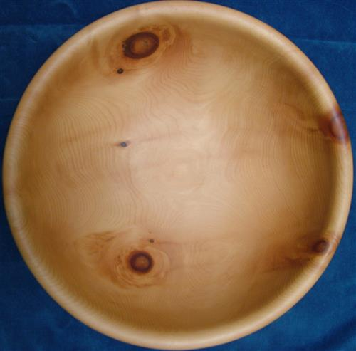Stone Pine wooden bowl donated to the Museum Secretariat of the Convention on Biological Diversity