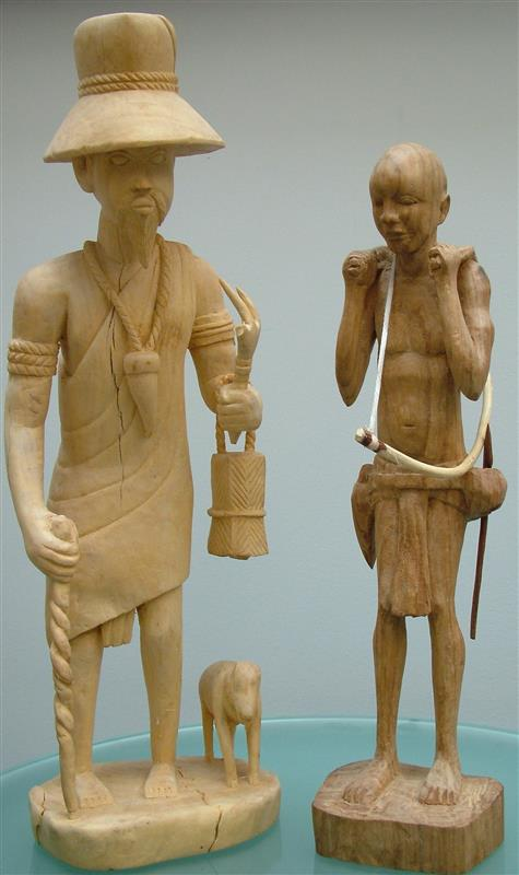 Wooden statuettes from Guinea-Bissau Secretariat of the Convention on Biological Diversity
