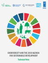 Technical note: Biodiversity and the 2030 Agenda for Sustainable Development