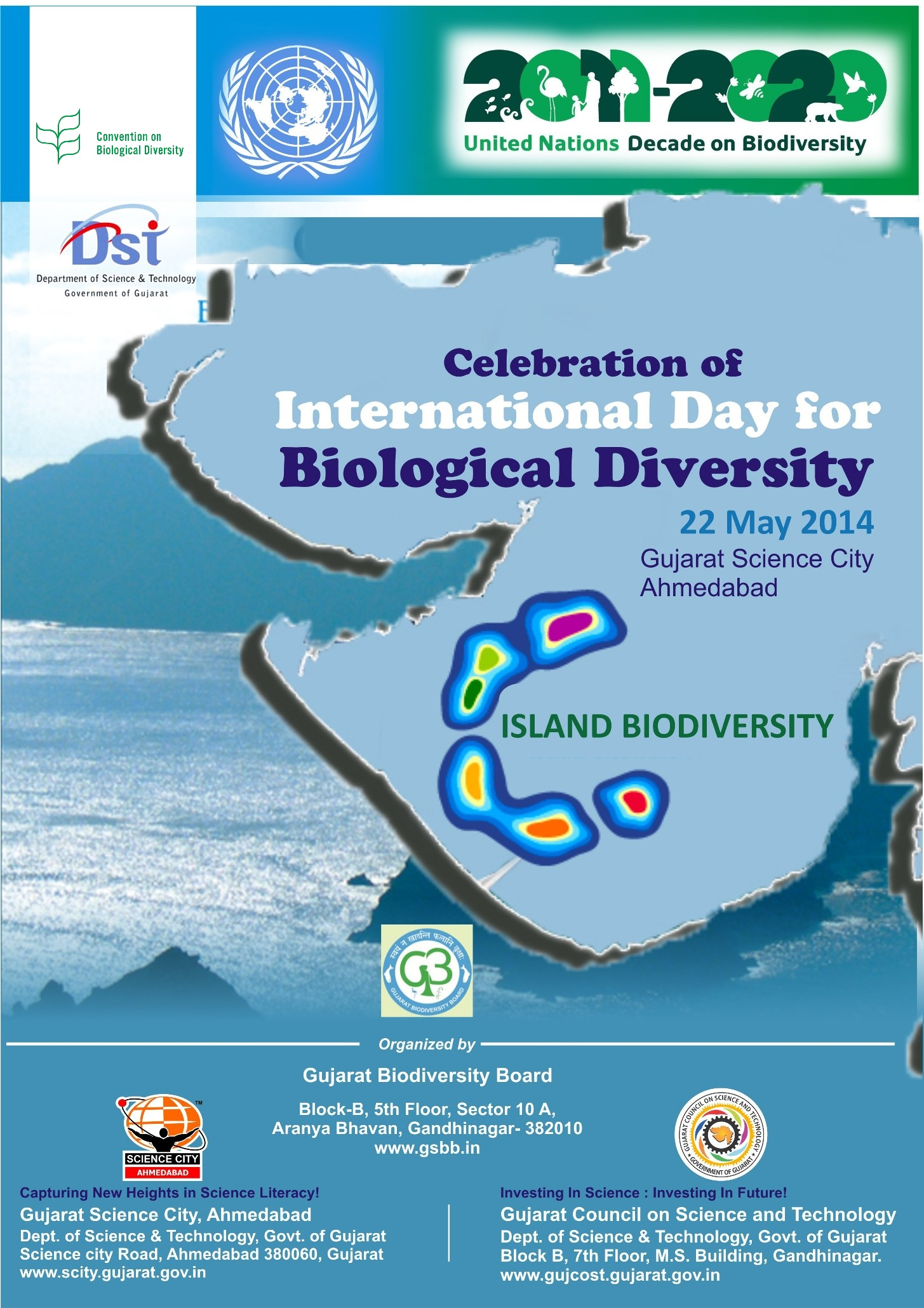 international day for biological diversity 2014 poster · banner