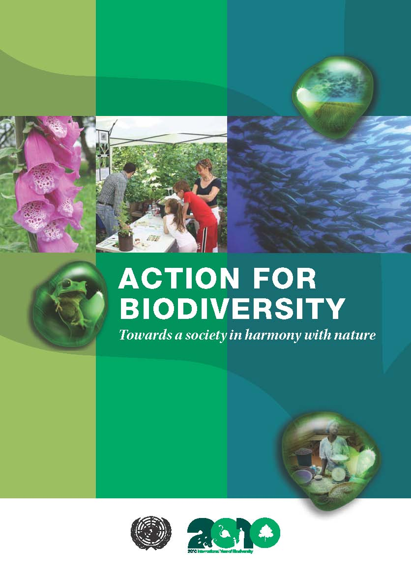 Action for Biodiversity - Towards a sociey in harmony with nature