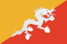 Country flag of Bhutan