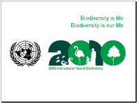 International Year of Biodiversity basic presentation