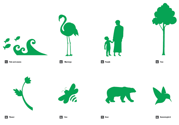Illustrative icons